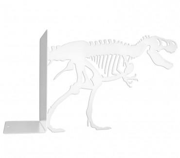 Grand cale-livres deco design squelette tyrannosaure