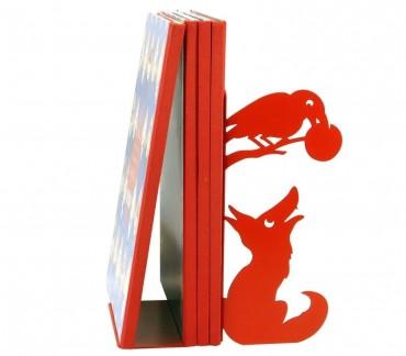 Serre-livres Maître Corbeau en métal Shohan-design