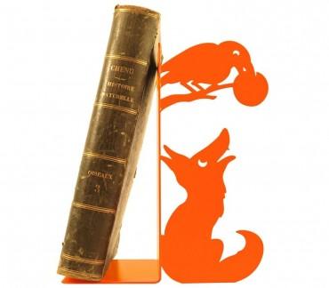 Cale-livres Maître Corbeau de Jean de La Fontaine par Shohan-design