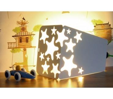 Luminaire original baladeuse blanche Lucky Star