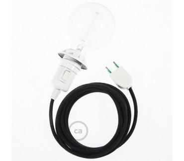 Equipement électrique noir pour la lampe Le Renne