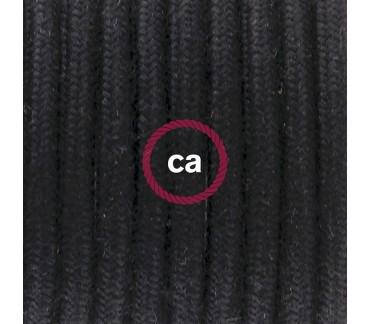 Câble textile noir pour la lampe Le Renne