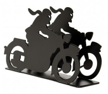 "Porte-courrier ""Motocyclette"""