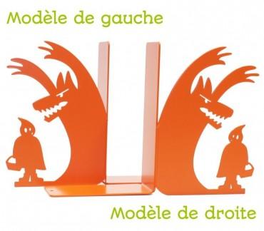 """Presse-livres déco enfant """"Au loup"""""""