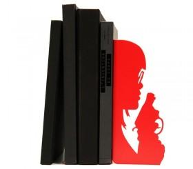 "Serre-livres BD ""Braqueuse"""