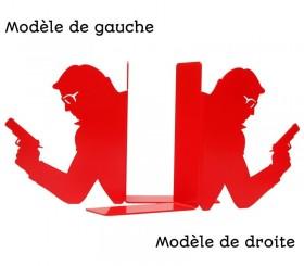 "Serre-livres polar ""Le tueur"""