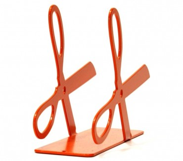 "Porte-courrier déco design ""Ciso"" orange"
