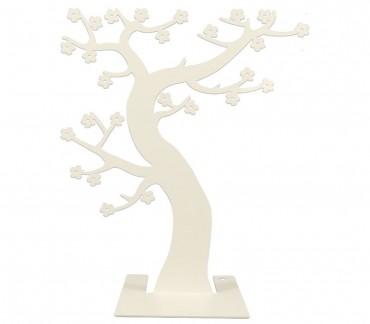 """Support à bijoux métal blanc """"Hanami"""""""