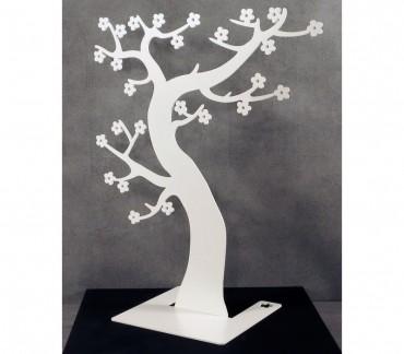 """Arbre à bijoux décoratif blanc """"Hanami"""""""