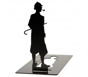 Cale-livres décoratif original Sherlock Holmes