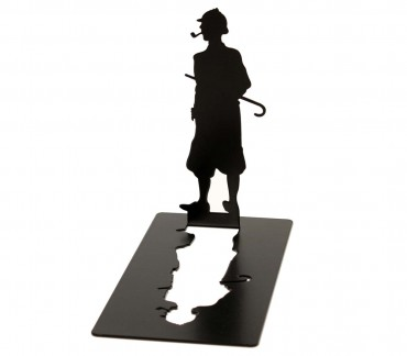 Presse-livres métal romans policiers Sherlock Holmes