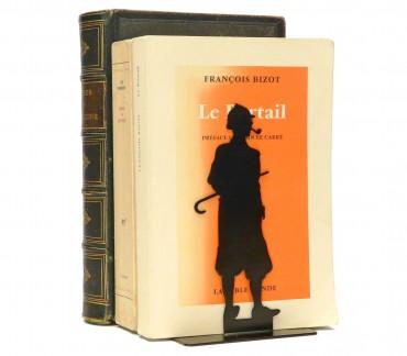 Serre-livres métal noir Sherlock Holmes