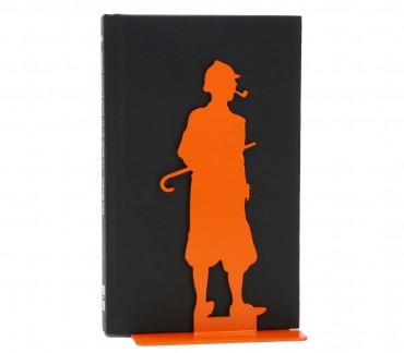 Cale-livres déco orange