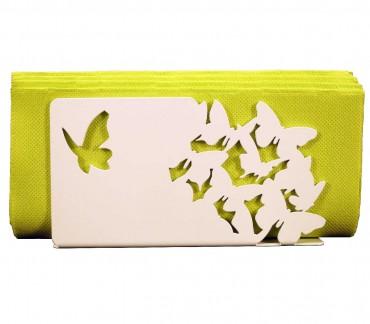 White mail holder Butterlies