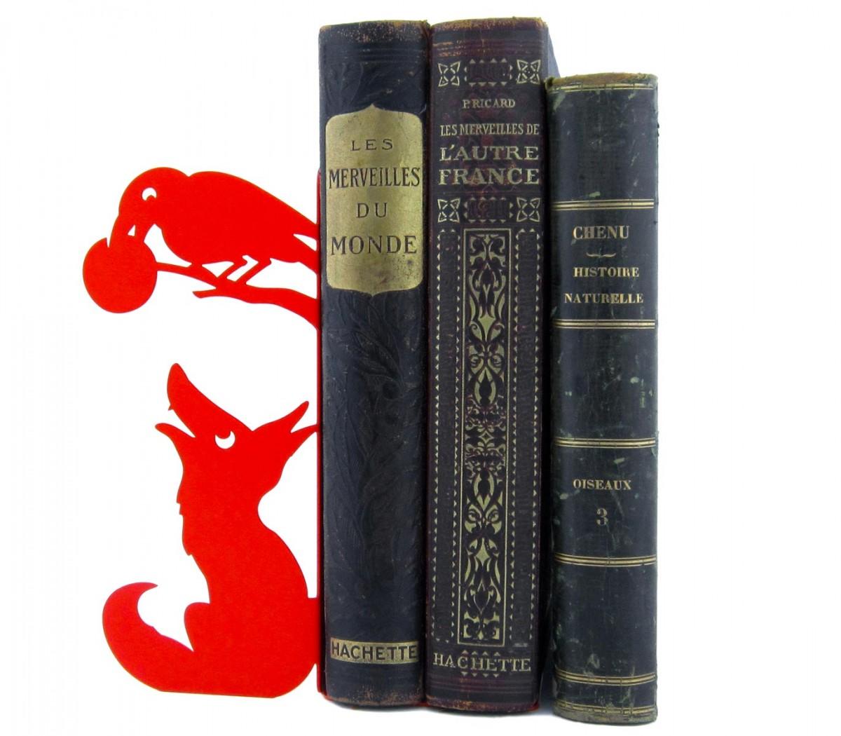 Cale Livres grand serre-livres maître corbeau de shohan-design pour une