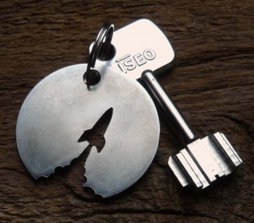 Keychain objective moon space conquest