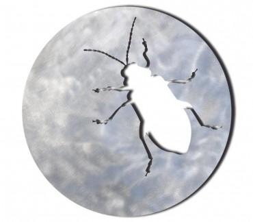 """Dessous de plat inox brossé """"The beetle"""""""