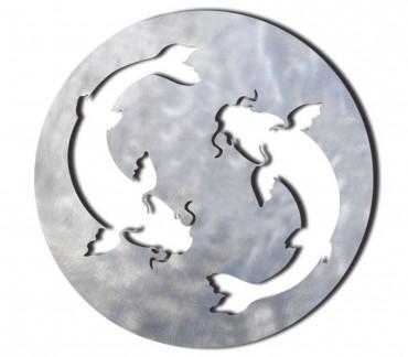 """Dessous de plat """"Koï"""" déco japonaise zen"""