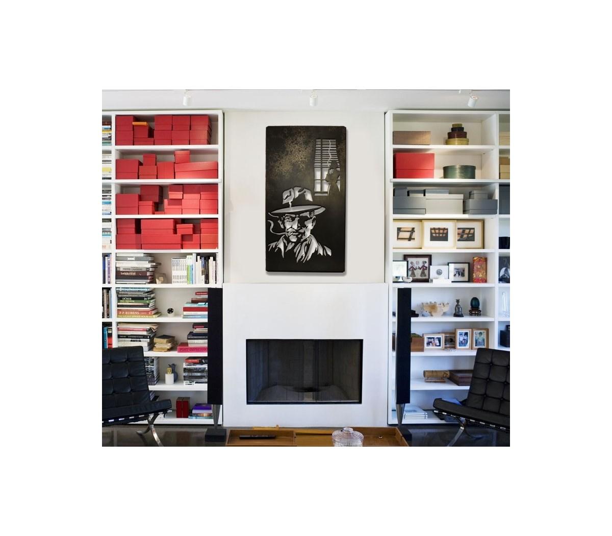 roman noir de shohan design un tableau lumineux au style tr s bd inspir e des films noirs et. Black Bedroom Furniture Sets. Home Design Ideas