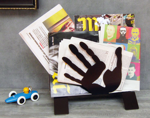 Magazine rack Hands